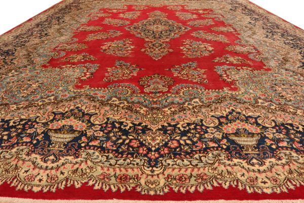 360045 Kirman Circa 1950 Perfect Condition Size 497x352 Cm 2 600x400