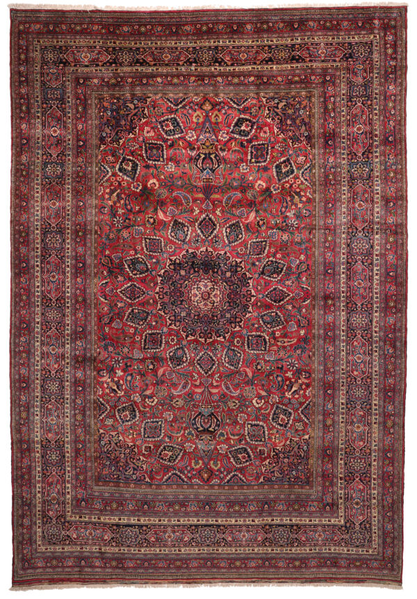 361268 Mashad Circa 1940 Very Good Condition Size 450x310 Cm 1 600x861