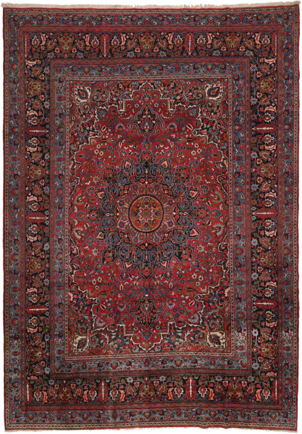 361269 Mashad Circa 1930 Very Good Condition Size 465x 330 Cm 1 600x862