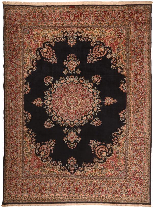362099 Kerman Fine Signed Arjomand Circa 1960 Perfect Condition Size 393 X 295cm 1 600x814