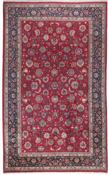 Persian Mashad Wool Rug - 492 x 296cm