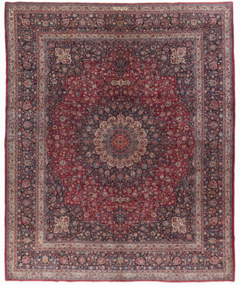 Persian Mashad Wool Rug - 450 x 374cm