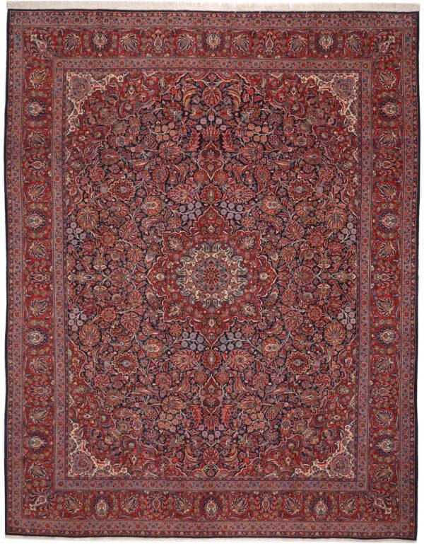 363498 Qazvin Fine Circa 1930 Perfect Condition Size 404 X 317 Cm 1 600x769