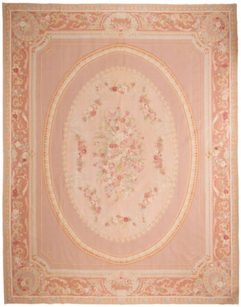 Extra Large Aubusson Design Rug - 471 x 367cm