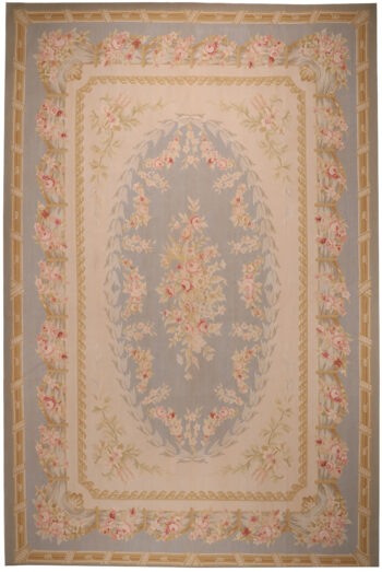 Extra Large Aubusson Design Rug - 554 x 370cm