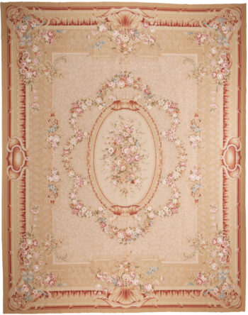 Extra Large Aubusson Design Rug - 472 x 371cm