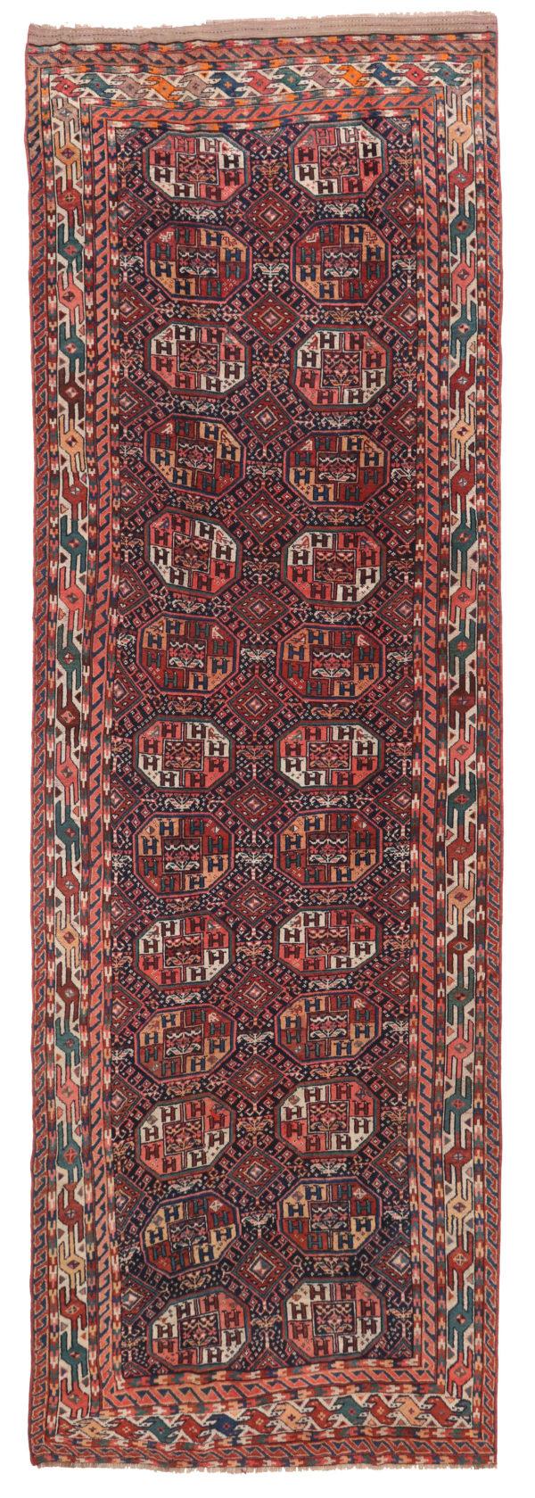 359175 Kurdi Gouchan Circa 1910 Slightly Low Pile Size 590 X 190 Cm 1 600x1679