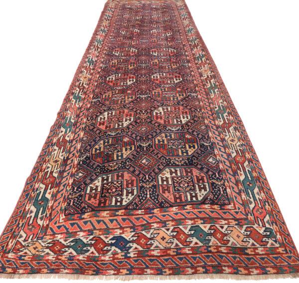 359175 Kurdi Gouchan Circa 1910 Slightly Low Pile Size 590 X 190 Cm 2 600x567