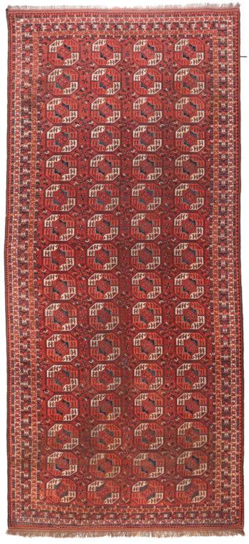 359176 Turkaman Circa 1910 Slightly Lower Pile Size 543 X 246 Cm 1 350x763
