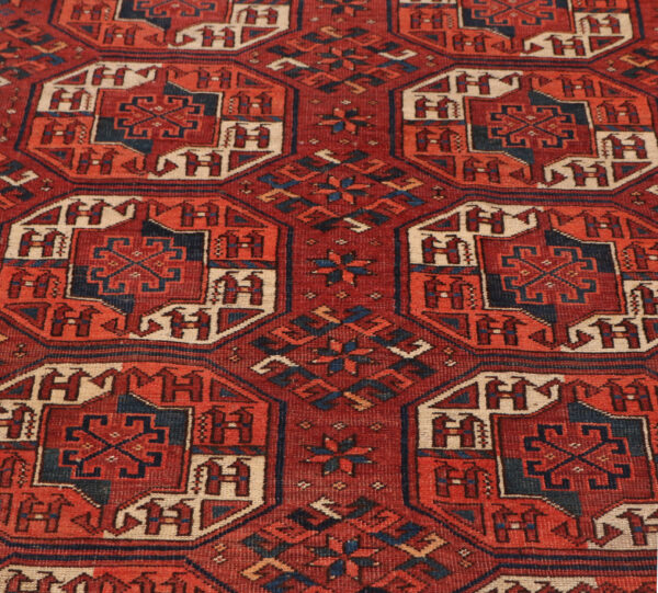 359176 Turkaman Circa 1910 Slightly Lower Pile Size 543 X 246 Cm 6 600x541