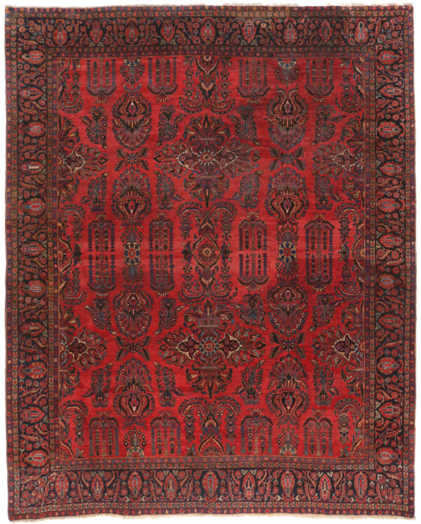 360152 Saruk Circa 1920 Good Condition Size 352 X 290 Cm 1 600x747