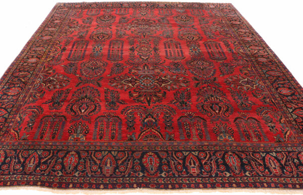360152 Saruk Circa 1920 Good Condition Size 352 X 290 Cm 2 600x386