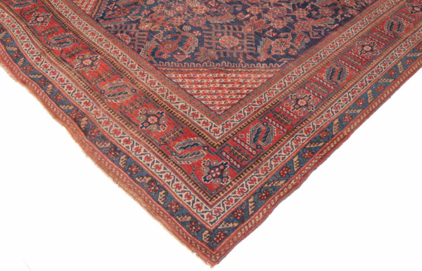 530436 Afshar Circa 1900 Low Pile Size 552 X 209 Cm 2 600x386