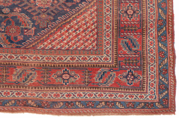 530436 Afshar Circa 1900 Low Pile Size 552 X 209 Cm 4 600x396