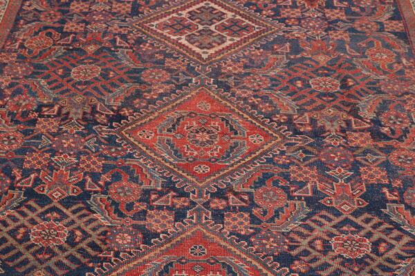 530436 Afshar Circa 1900 Low Pile Size 552 X 209 Cm 5 600x400