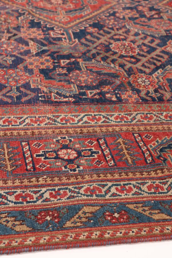 530436 Afshar Circa 1900 Low Pile Size 552 X 209 Cm 7 600x900