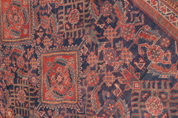 530436 Afshar Circa 1900 Low Pile Size 552 X 209 Cm 8 600x400