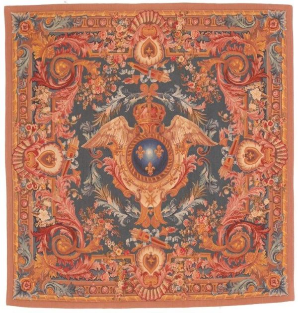 604127 Tapestry French Cote Of Arm Size 189 X 198 600x631