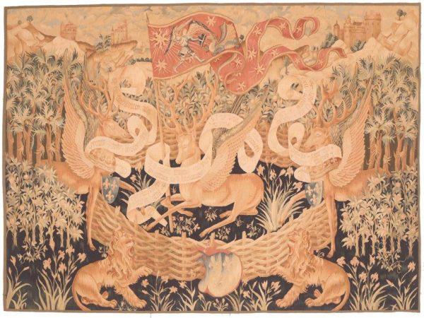 605553 Tapestry Unicorn Size 165 X 229 Cm 600x450
