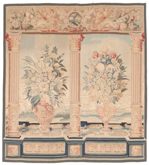 Thumbnail 329700 Tapestry Bouquet Niche Size 160 X 145 Cm 1 600x666