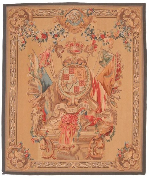 Thumbnail 603868 Tapestry English Cote Of Arm Size 233 X 196 Cm 600x720