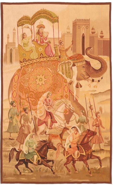 Thumbnail 605550 Tapestry Maharajas Bride Size 213 X 130 Cm 1