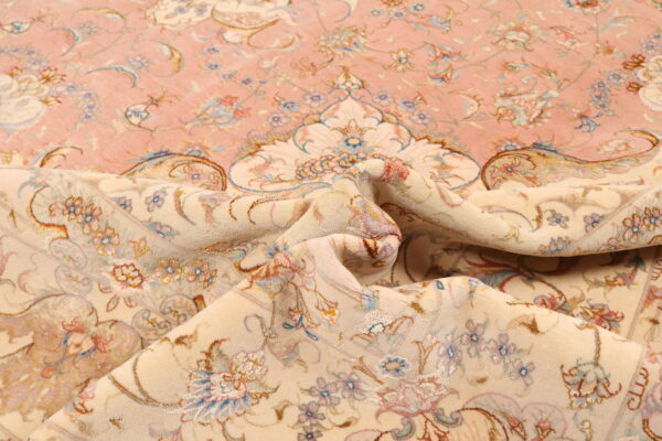 321262 Tabriz Fine Part Silk Size 365 X 250 Cm 11 600x400