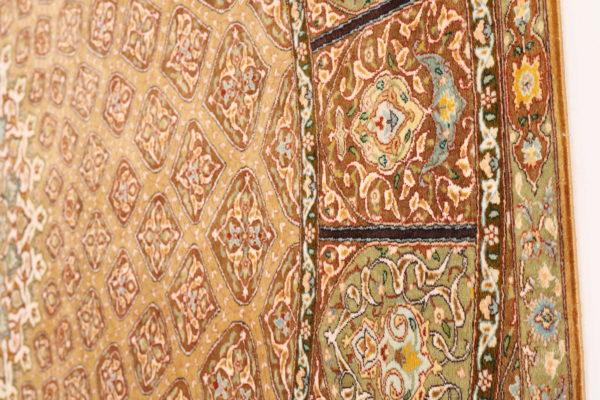 363449 Tabriz Pure Silk Signed Tabriz Woven By Khani Size 250 X 246 Cm 10 600x400