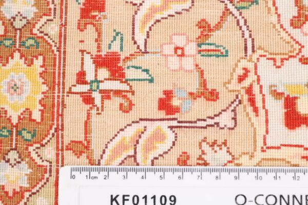 363449 Tabriz Pure Silk Signed Tabriz Woven By Khani Size 250 X 246 Cm 9 600x400