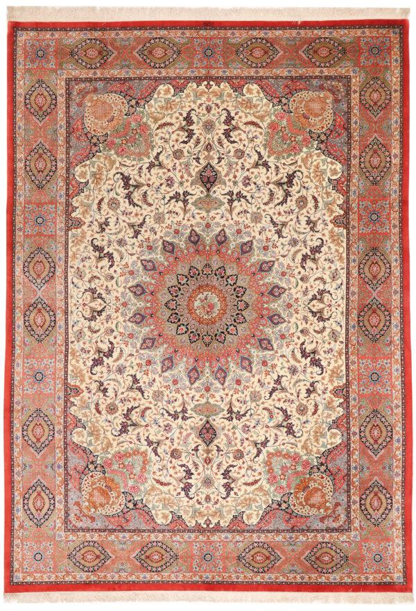 363501 Qum Silk Signed Designed Aand Woven By Golhar Size 340 X 245 Cm 1 600x880
