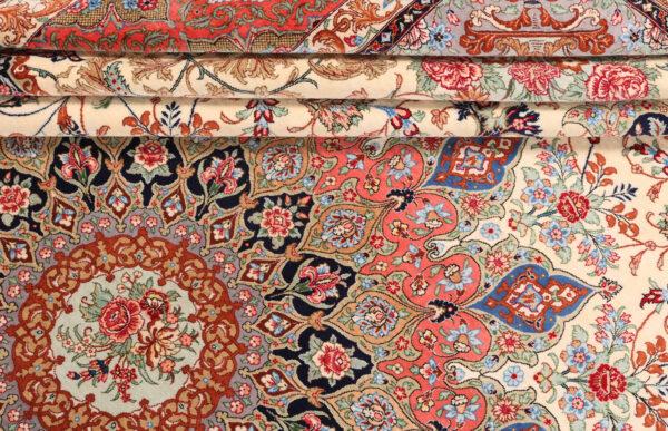 363501 Qum Silk Signed Designed Aand Woven By Golhar Size 340 X 245 Cm 6 600x387