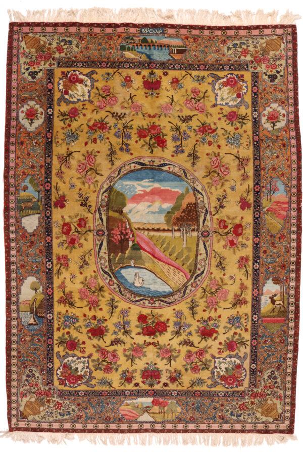 363610 Tabriz Signed Mehdi Zadeh Circa 1930 Size 300 X 195 Cm 1 600x900