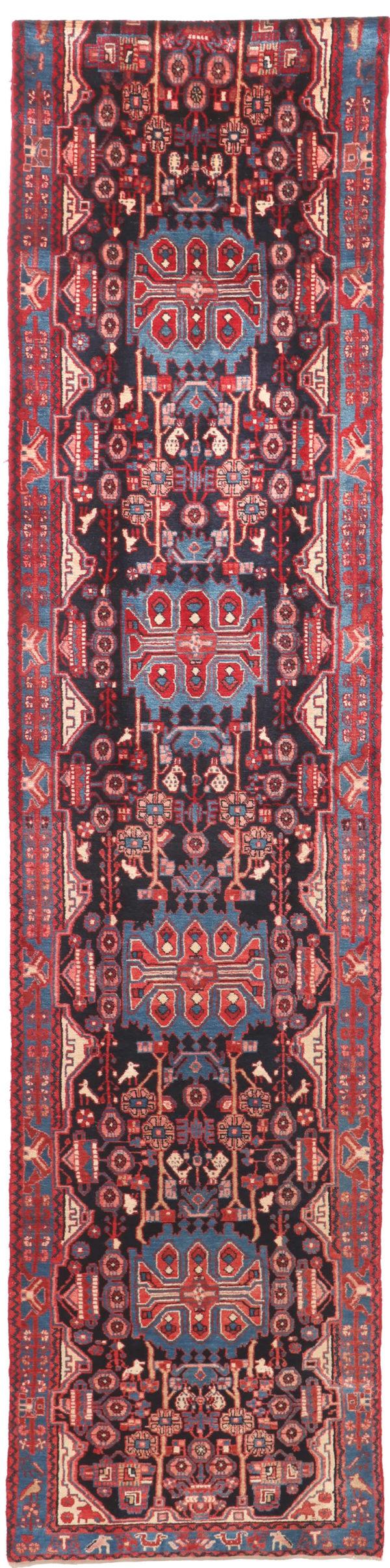 335701 Nahavand Persian Good Pile Circa 1970 Size 477 X 102 Cm 1 600x2410