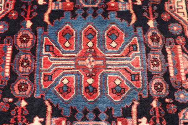 335701 Nahavand Persian Good Pile Circa 1970 Size 477 X 102 Cm 3 600x400