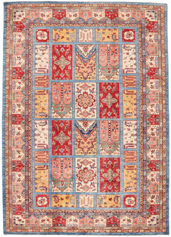 586587 Kazak Fine Garden Design Size 294 X 210 Cm 2 1 600x827