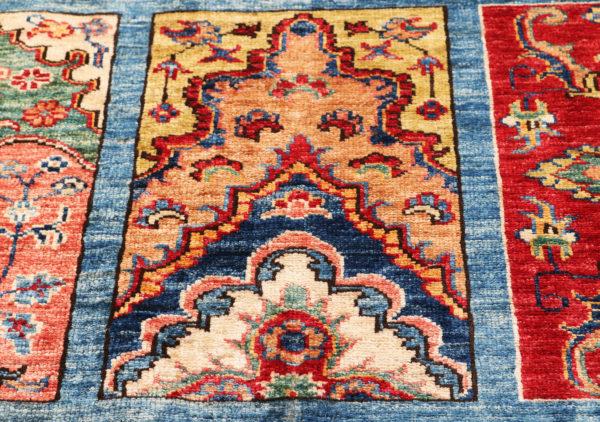 586587 Kazak Fine Garden Design Size 294 X 210 Cm 9 1 600x422