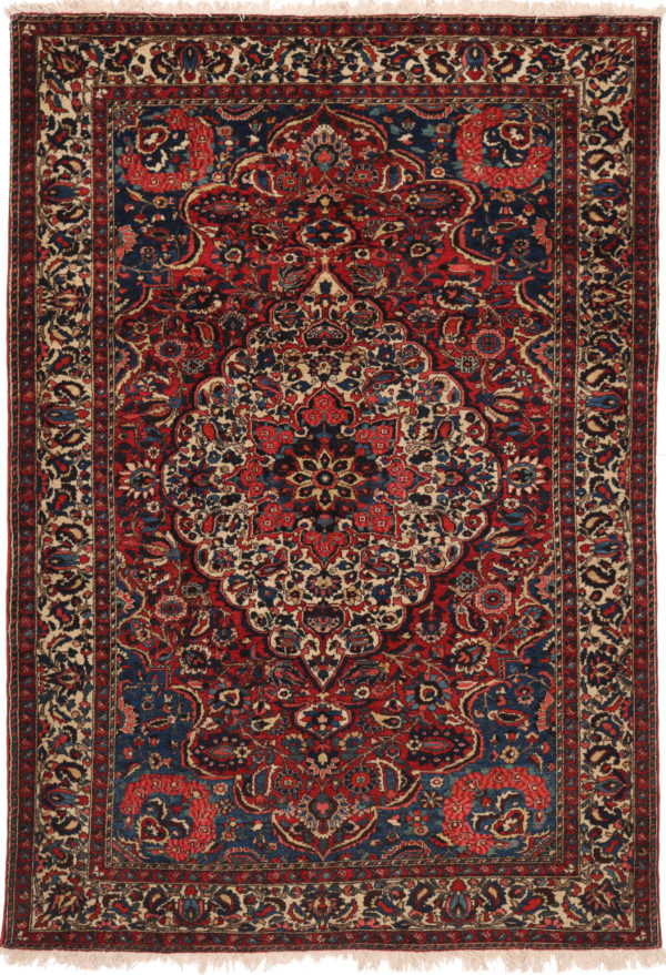 300874 Bakhtiar Fine Chlehshotor Circa 1920 Perfect Condition Size 207 X 142cm 3 600x879