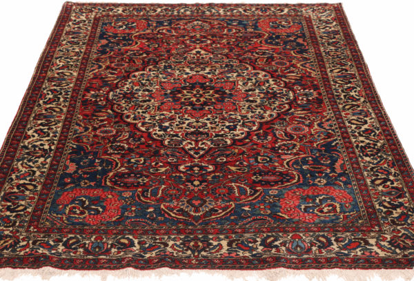 300874 Bakhtiar Fine Chlehshotor Circa 1920 Perfect Condition Size 207 X 142cm 4 600x407