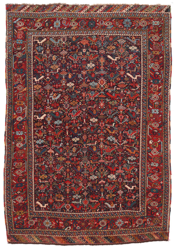 301767 Kashgai Old Size 194 X 137 Cm 1 600x859