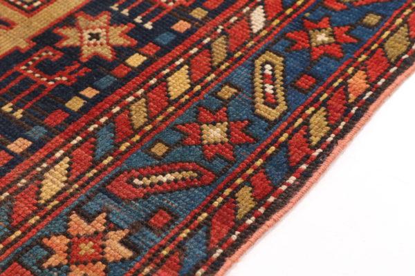 351468 Ganjeh Caucasian Circa 1910 Low Pile Size 198 X 127cm 5 600x400