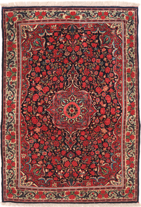 353850 Bidjar Circa 1920 Perfect Condition Size 169 X 116 Cm 3 600x880