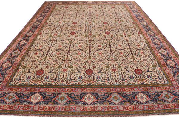 363602 Tabriz Vintage Size 421 X 306 Cm 3 600x394