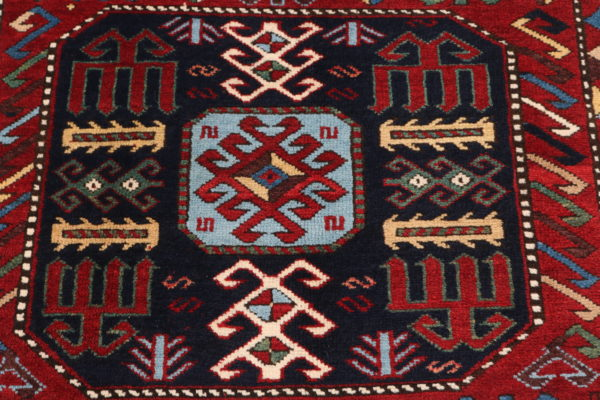 606420 Kazak Anique Circa 1910 Very Good Condition Size 261 X 138 Cm 3 600x400