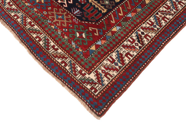 606420 Kazak Anique Circa 1910 Very Good Condition Size 261 X 138 Cm 6 600x400