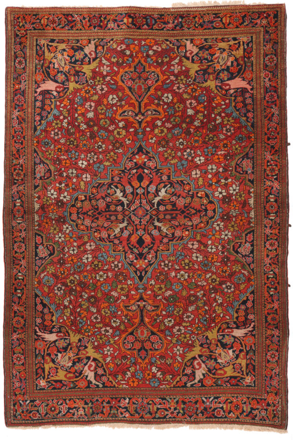 606491 Ferahan Antique Size 197 X 127 Cm 1 600x900