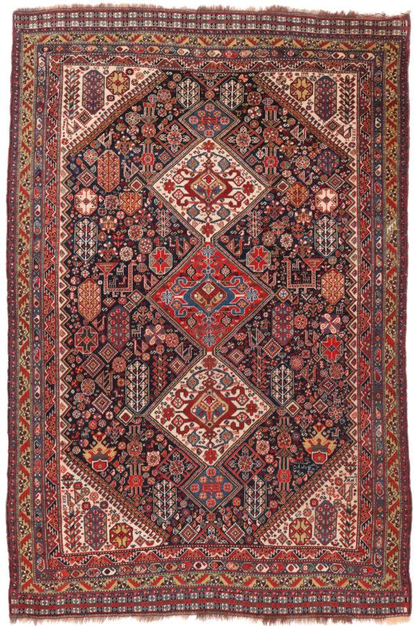 341351 Kashgai Circa 1910 Very Good Condition Size 246 X 162 Cm 2 600x907