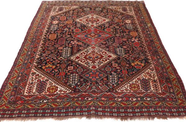 341351 Kashgai Circa 1910 Very Good Condition Size 246 X 162 Cm 3 600x393