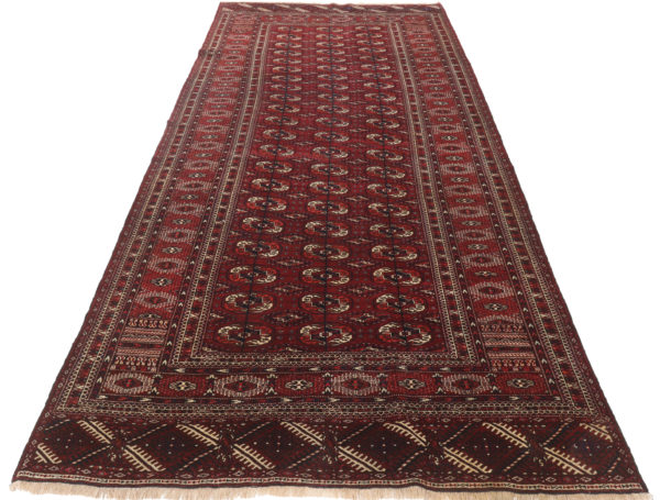 313605 Tekke Turkman Circa 1920 Good Condition Size 357 X 175 Cm 2 600x455