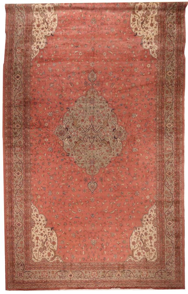 352109 Mahal Circa 1910 Slightly Low Pile In A Few Places Size 728 X 415cm 1 600x937