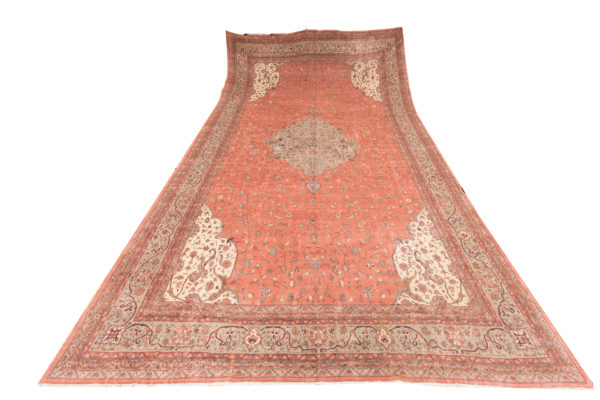 352109 Mahal Circa 1910 Slightly Low Pile In A Few Places Size 728 X 415cm 6 600x400